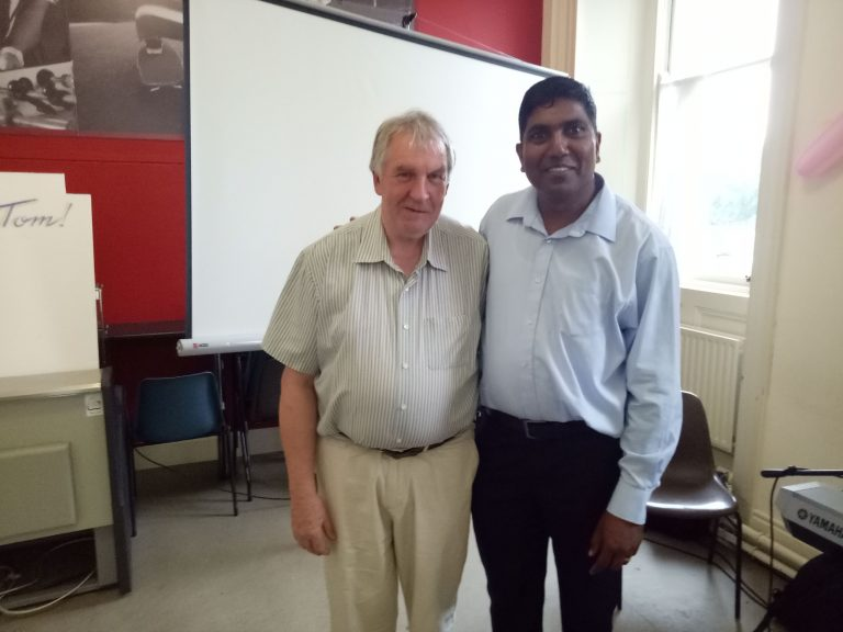 Farewell party for Fr. Tom Hogan from the Indian Community in Ennis