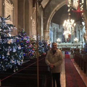 Festival of Christmas Trees in St. Columba's Church
