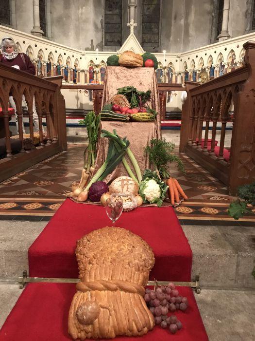 Harvest Festival at St  Columbas - Ennis Parish