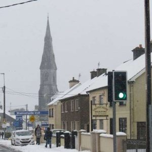 Out & about in Ennis during the snow