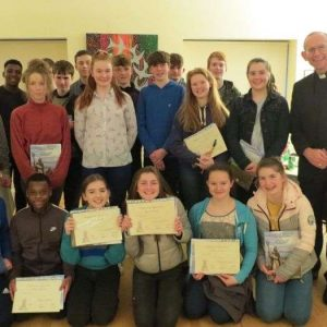 Presentation to Faith Friends for Confirmation Programme at Parish Centre