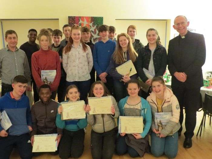 Presentation to Faith Friends for Confirmation Programme at Parish Centre