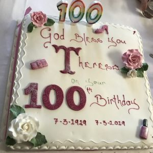 100th Birthday Celebrations for Theresa Corbett
