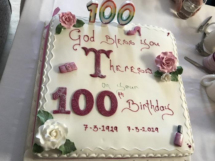 100th Birthday Celebrations for Theresa Corbett