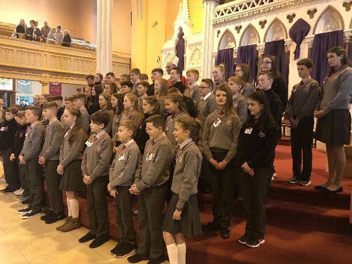 Confirmation of Students from Ennis National School and Parish After Schools Project 090319