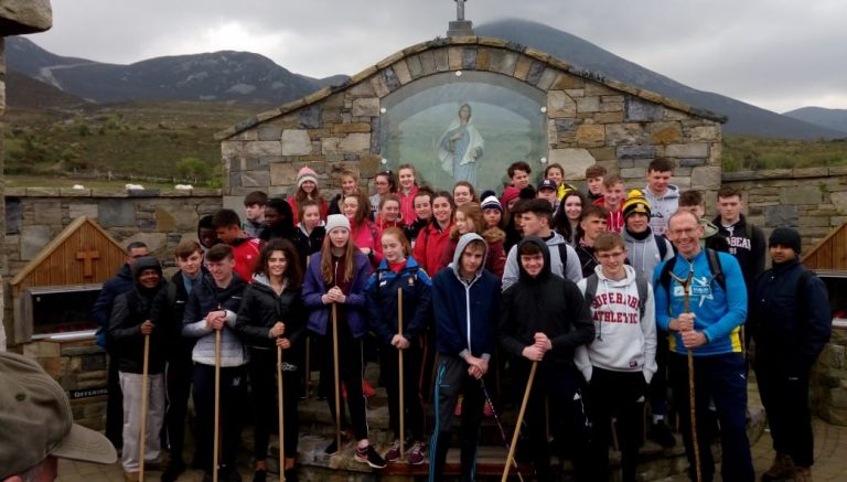 Croagh Patrick with Rice College 8th May, 2019