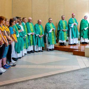 Opening Mass at Lourdes Killaloe Diocesan Pilgriamge