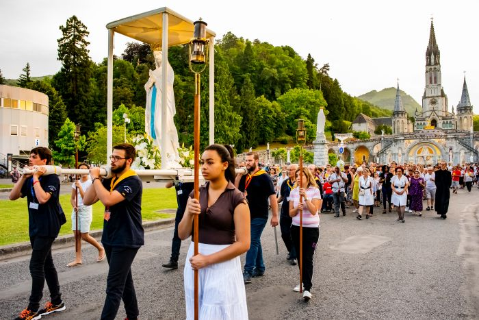 Lourdes Killaloe Diocesan Pilgrimage Torch Lit Procession