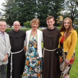 Bro Ian Cunningham OFM – First Profession