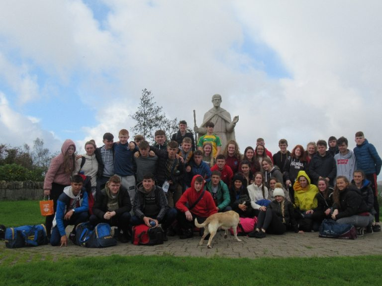 Rice College School Retreat on Lough Derg