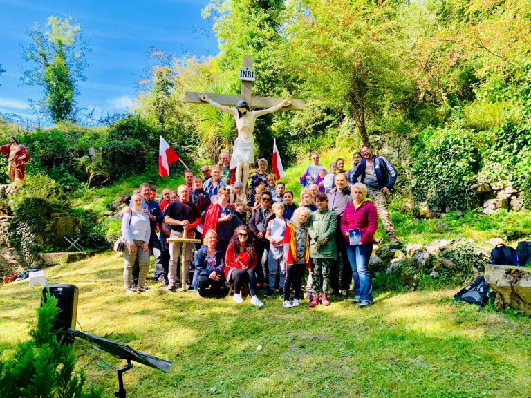 Polish Community Pilgrimage to St John's Well, Killone