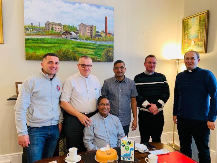 Fr. Joy's  celebration