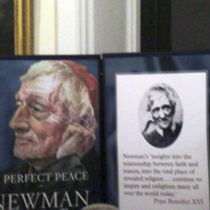 Bishop Fintan launches A Perfect Peace – Newman – Saint for our Time at St Flannan's College to launch