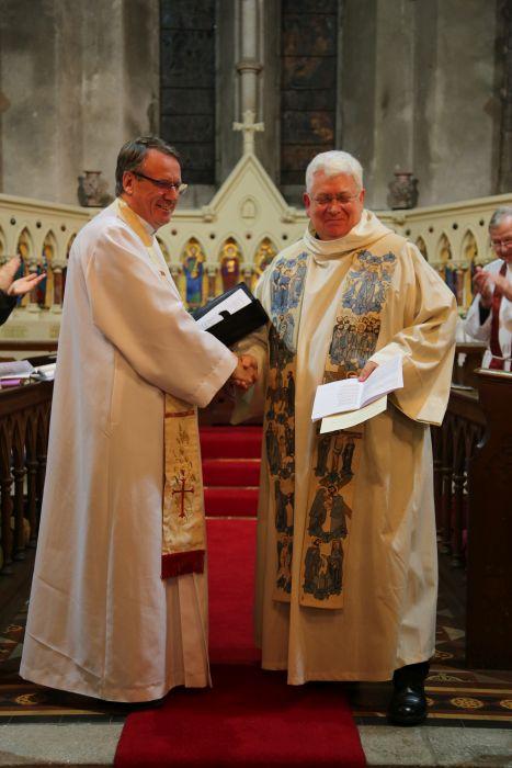 Instillation of Rev Kevin O'Brien