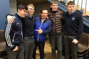 Marty Morrissey Visits Rice College