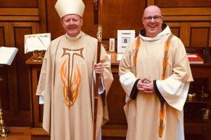 Diaconal Ordination of Bro. Damian Casey OFM