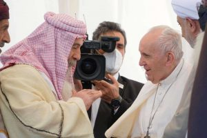 Ennis Parishioner Accompanies Pope Francis to Iraq