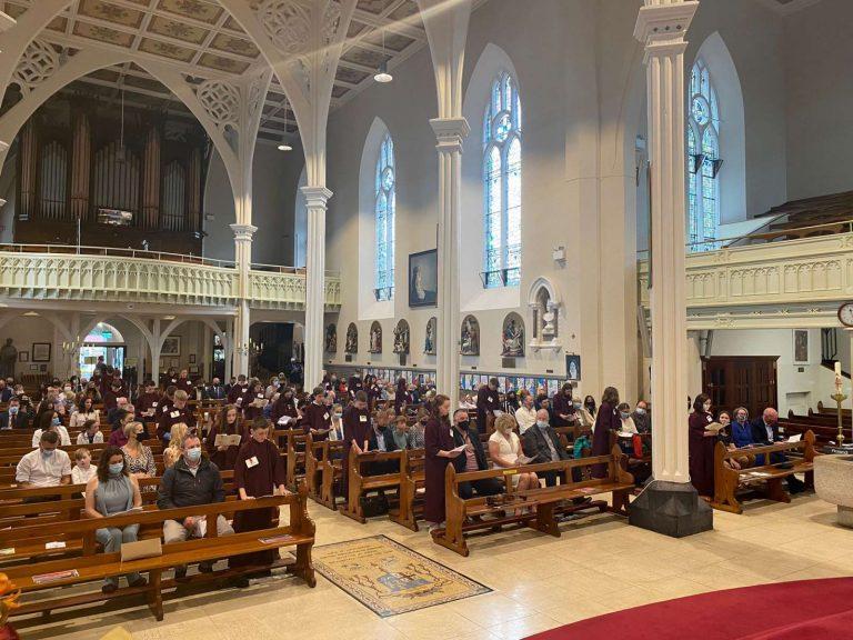Confirmation Celebrations for Gaelscoil Mhíchíl Cíosóg 21st August 2021